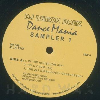 Cover art - DJ Deeon: Doez Dance Mania Sampler 1