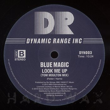 Cover art - Blue Magic: Welcome To The Club