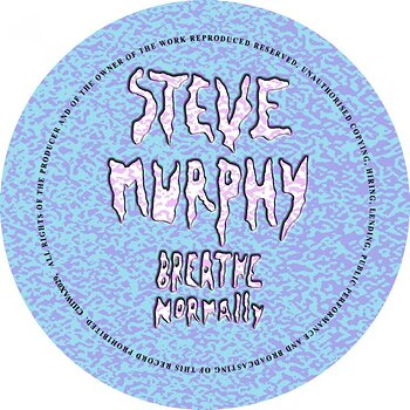 Cover art - Steve Murphy: Breathe Normally