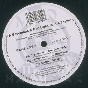 Cover art - Various Artists: A Basement, A Red Light And A Feeling