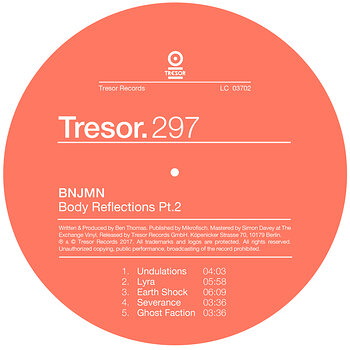 Cover art - Bnjmn: Body Reflections Pt. 2