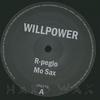 Cover art - Willpower: R-pegio