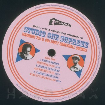 Cover art - Various Artists: Studio One Supreme: Maximum 70s and 80s Early Dancehall Sounds