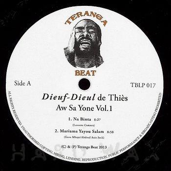 Cover art - Dieuf-Dieul de Thiès: Aw Sa Yone Vol.1