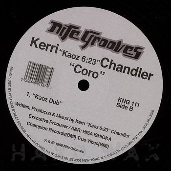 Cover art - Kerri Chandler: Coro