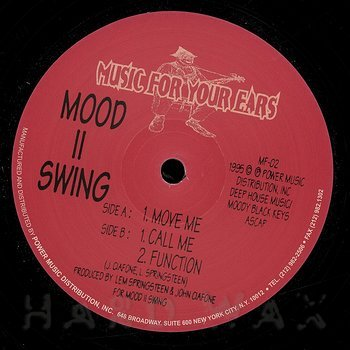 Cover art - Mood II Swing: Move Me