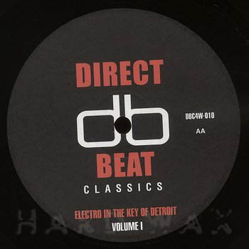 Cover art - Various Artists: Electro in the Key of Detroit Vol. 1