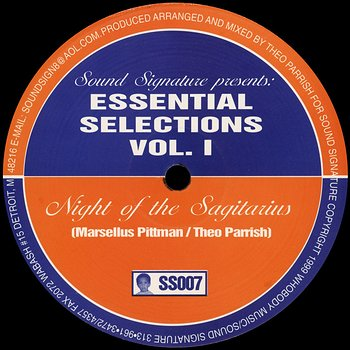 Cover art - Theo Parrish / Marsellus Pittmann: Essential Selections Vol. 1