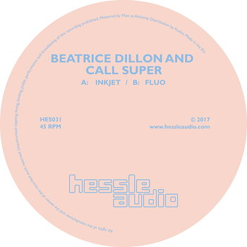 Cover art - Beatrice Dillon & Call Super: Inkjet