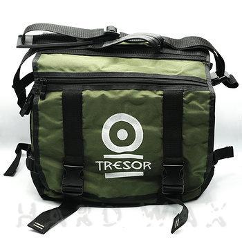 "Cover art - Record Bag: ""Tresor"", Green"