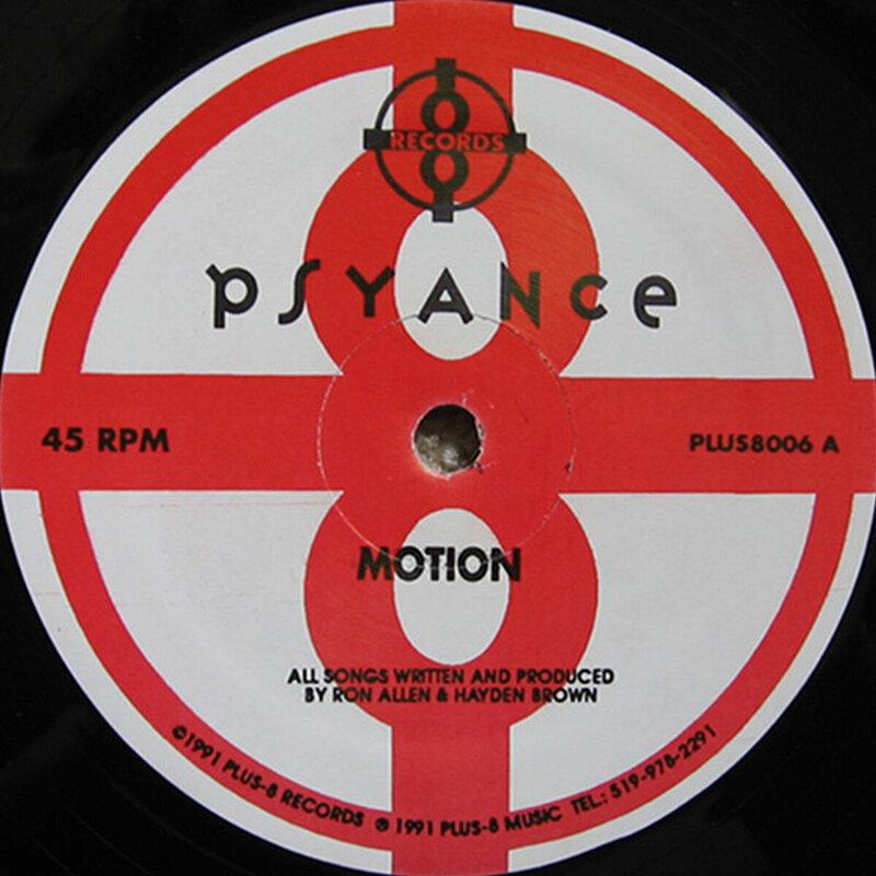 Cover art - Psyance: Motion