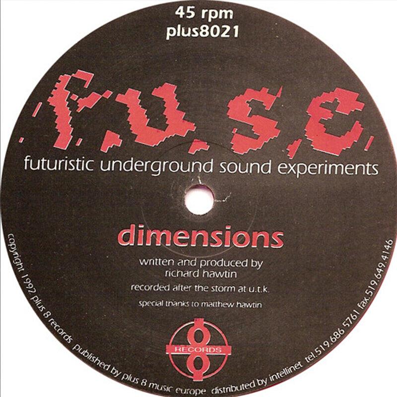Cover art - F.U.S.E.: Dimensions