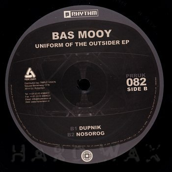 Cover art - Bas Mooy: Uniform Of The Outsider EP