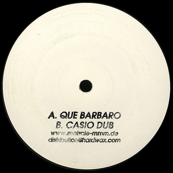 Cover art - MMM: Que Barbaro