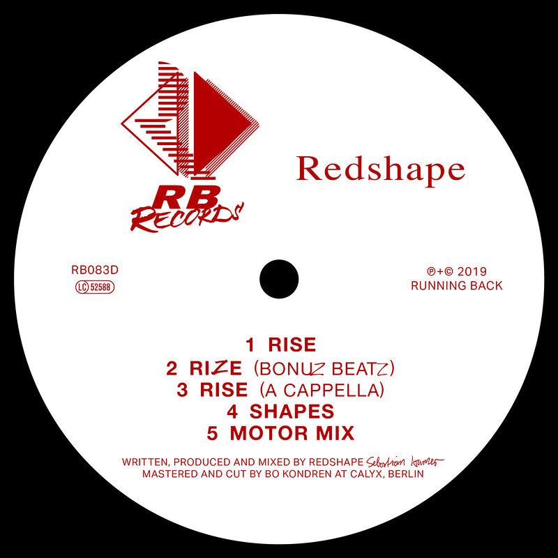 Cover art - Redshape: Rise