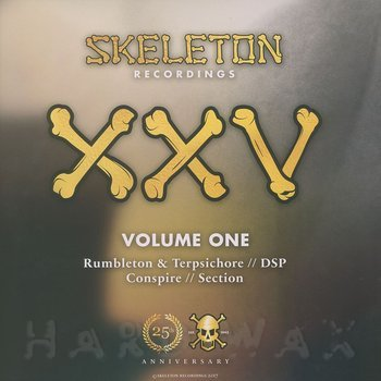 Cover art - Various Artists: Skeleton XXV Project Volume One