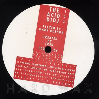 Cover art - The Acid Didj: The Acid Didj