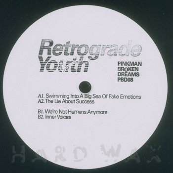 Cover art - Retrograde Youth: We're Not Humans Anymore