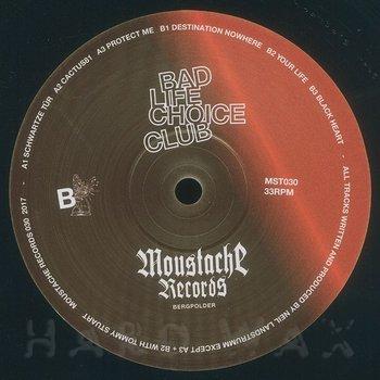 Cover art - Neil Landstrumm: Bad Life Choice Club EP