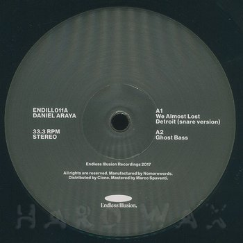 Cover art - Daniel Araya / Marcos Cabral: Split 02