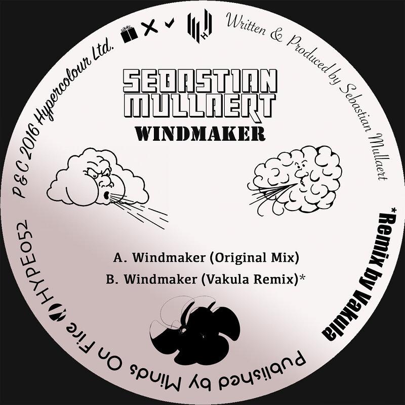Cover art - Sebastian Mullaert: Windmaker