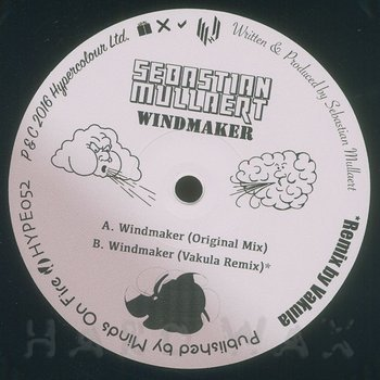 Cover art - Sebastian Mullaert: Windmaker