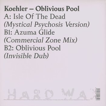 Cover art - Koehler: Oblivious Pool