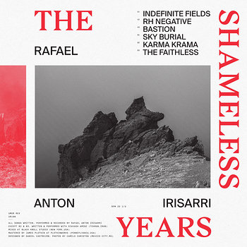 Cover art - Rafael Anton Irisarri: The Shameless Years