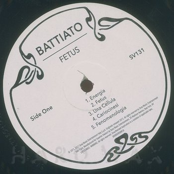 Cover art - Franco Battiato: Fetus