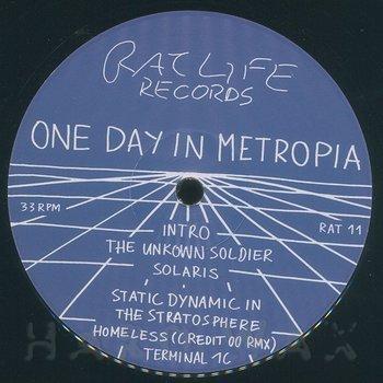 Cover art - One Day In Metropia: Rat Life 11 EP