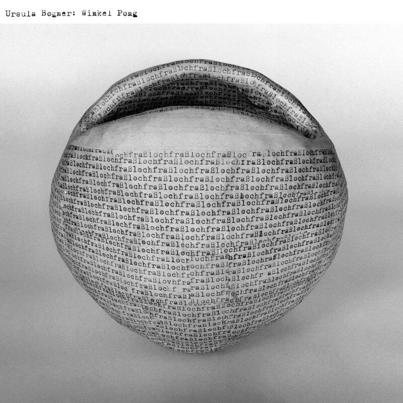 Cover art - Ursula Bogner: Winkel Pong