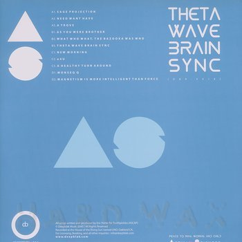 Cover art - Afrikan Sciences: Theta Wave Brain Sync