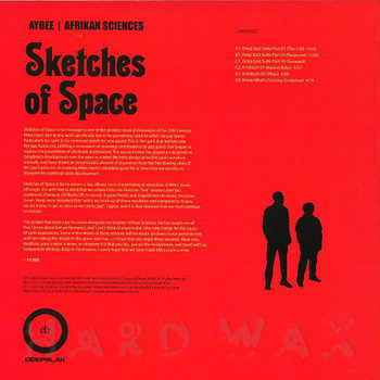 Cover art - Aybee & Afrikan Sciences: Sketches Of Space