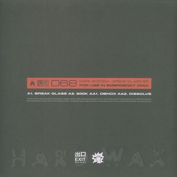 Cover art - Mark System: Break Glass EP