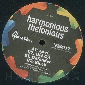 Cover art - Harmonious Thelonious: Abel