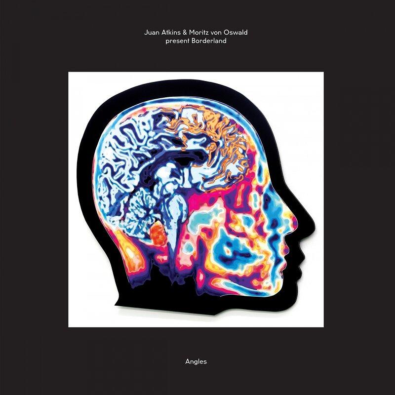 Cover art - Juan Atkins & Moritz von Oswald Present Borderland: Angles