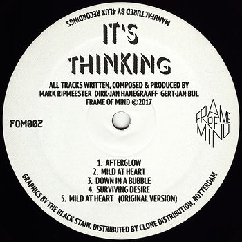 Cover art - It's Thinking: Afterglow