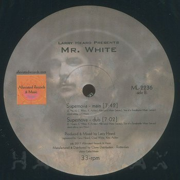 Cover art - Mr. White: Virtual Emotion