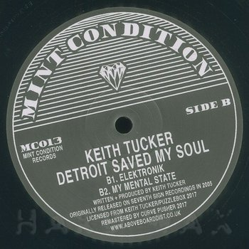 Cover art - Keith Tucker: Detroit Saved My Soul