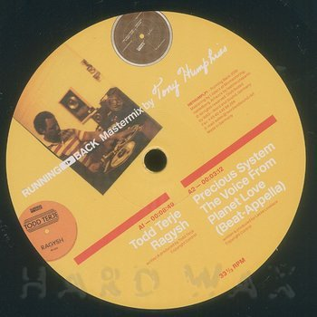 Cover art - Various Artists: Running Back Mastermix By Tony Humphries