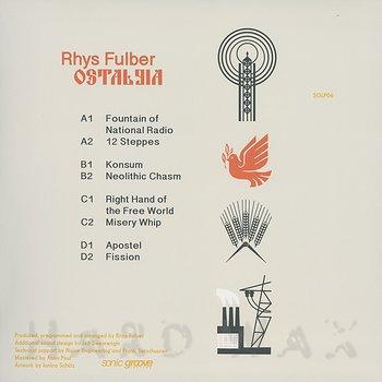 Cover art - Rhys Fulber: Ostalgia