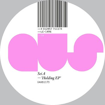 Cover art - Sei A: Holding EP