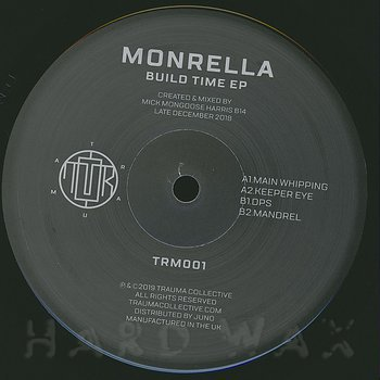 Cover art - Monrella: Build Time EP