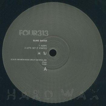 Cover art - Blake Baxter / Thomas Barnett: Four 313 EP