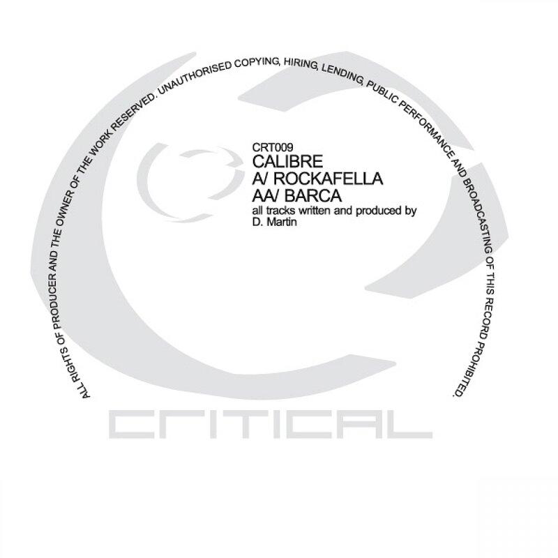 Cover art - Calibre: Rockafella / Barca