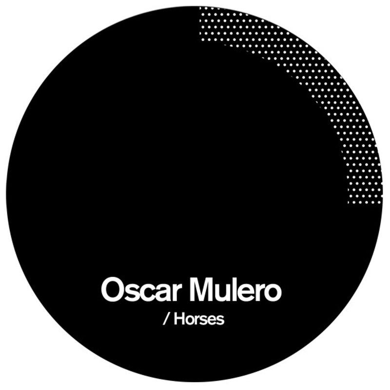 Cover art - Oscar Mulero: Horses