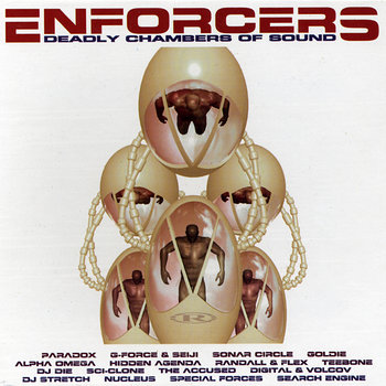Cover art - V/A - : Enforcers: Deadly Chambers Of Sound