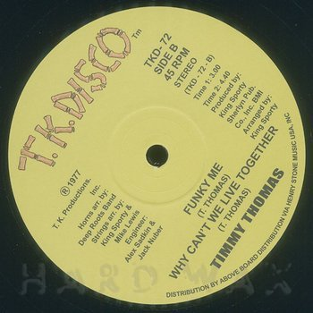 Cover art - Timmy Thomas: Africano