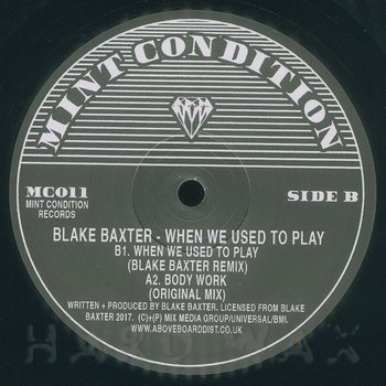 Cover art - Blake Baxter: When We Used To Play