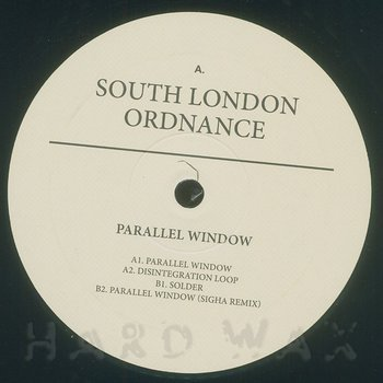 Cover art - South London Ordnance: Parallel Window